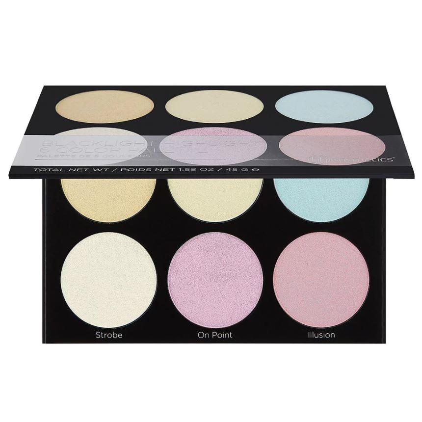 BH COSMETICS Blacklight Highlight - 6 Color Palette