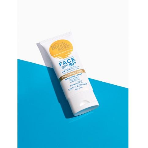 BONDI SANDS SPF 50+ Face Sunscreen Lotion - Fragrance Free (75 ml)