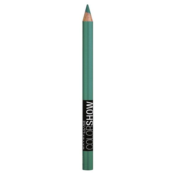 MAYBELLINE Color Show Crayon Khol Eyeliner - Edgy Emerald #300