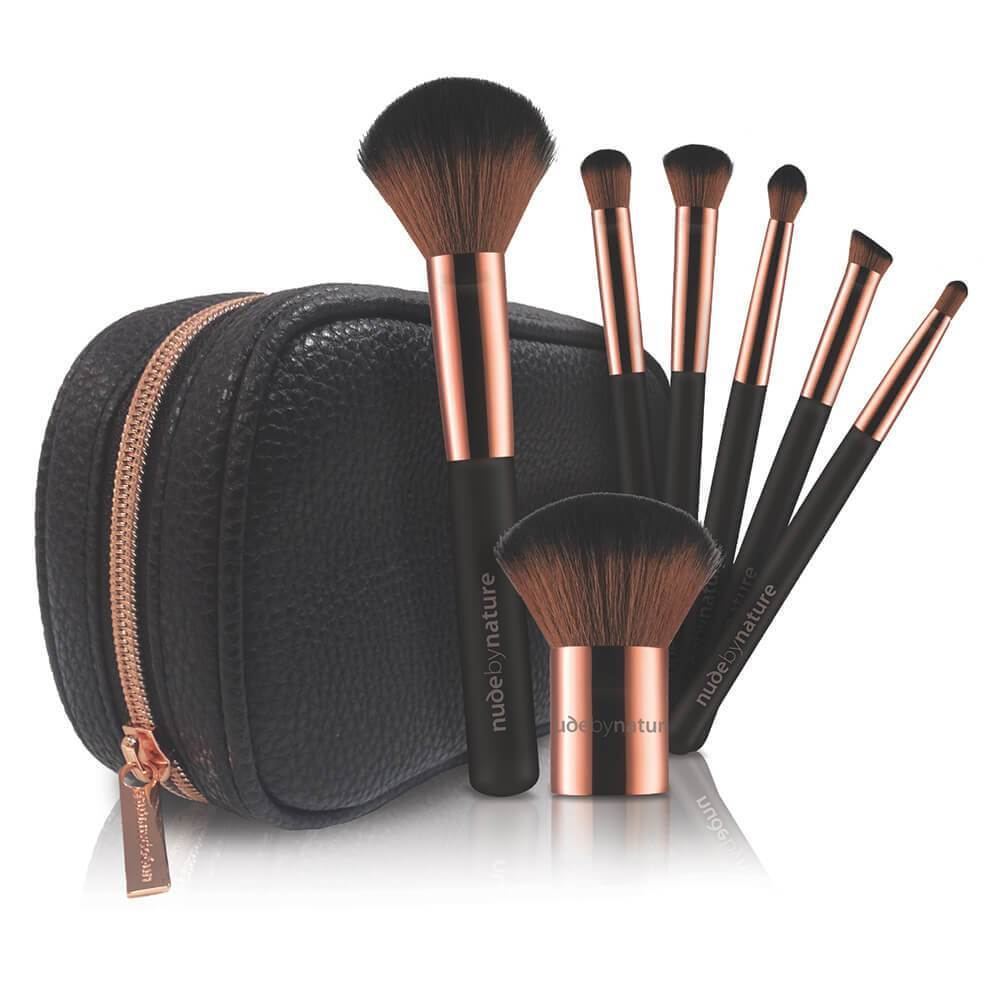 NUDE BY NATURE 7 Piece Essential Collection Brush Set