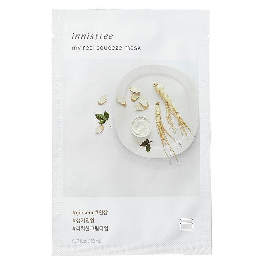 INNISFREE My Real Squeeze Mask - Ginseng