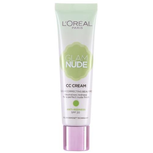 L'OREAL Glam Nude CC Cream - Anti-Redness SPF20