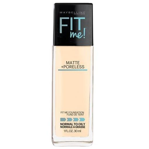 MAYBELLINE Fit Me Matte + Poreless Foundation - Porcelain #110