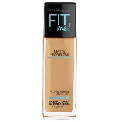MAYBELLINE Fit Me Matte + Poreless Foundation - Warm Honey #322