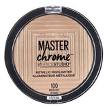MAYBELLINE Face Studio Master Chrome Metallic Highlighter - Molten Gold