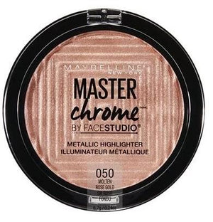 MAYBELLINE Face Studio Master Chrome Metallic Highlighter - Molten Rose Gold