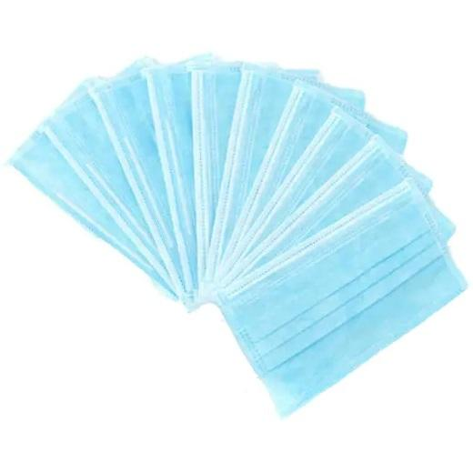Protective 3 Ply Face Mask - 10 Pack
