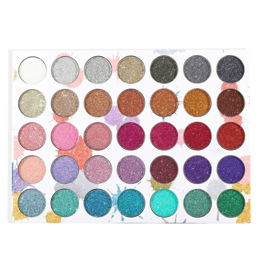 BEAUTY CREATIONS 35 Color Splash of Glitter Palette 2