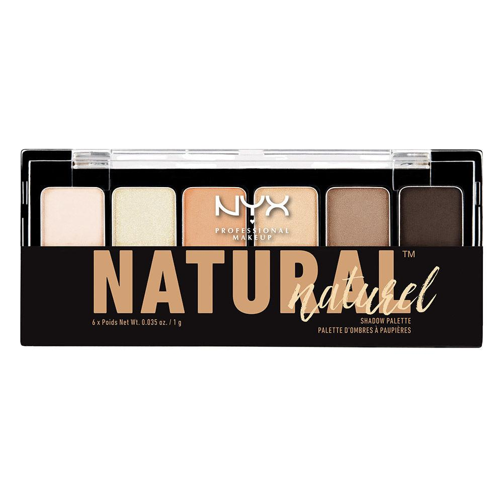 NYX PROFESSIONAL MAKEUP The Natural Shadow Palette