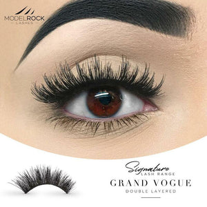 MODELROCK Signature Range Double Layered Lashes Multipack - Grand Vogue