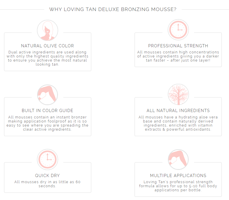 LOVING TAN Deluxe Bronzing Mousse - Ultra Dark