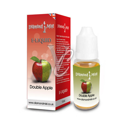 Double Apple Flavour 10ml - Diamond Mist