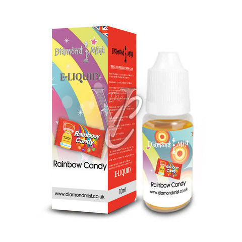 Rainbow Candy Flavour 10ml - Diamond Mist