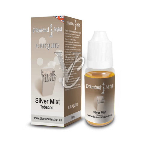 Silver Mist Tobacco Flavour 10ml - Diamond Mist