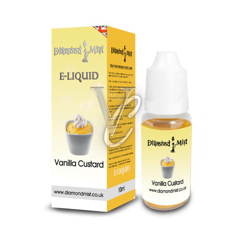 Vanilla Custard Flavour 10ml - Diamond Mist