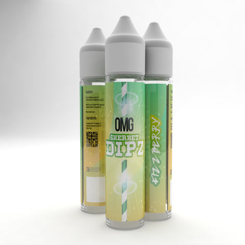 FIZZBERRY SHERBET DIPZ BY OMG EJUICE - 50ml - 0mg
