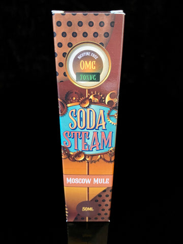 MOSCOW MULE BY SODA STEAM- 50ml - 0mg