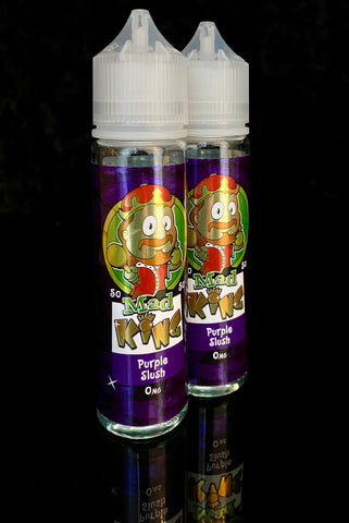 PURPLE SLUSH BY MAD KING- 50ml - 0mg 50/50
