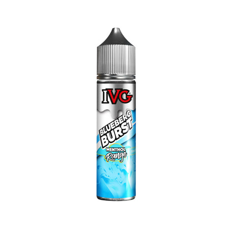Blueberg Burst By IVG Menthol 50ml