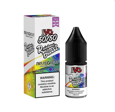 Rainbow Blast Menthol By IVG 10ml