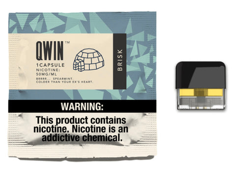 NEW QWIN NIC CAPSULES (REFILLABLE) 20MG