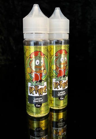 LEMON SHERBET BY MAD KING- 50ml - 0mg 50/50