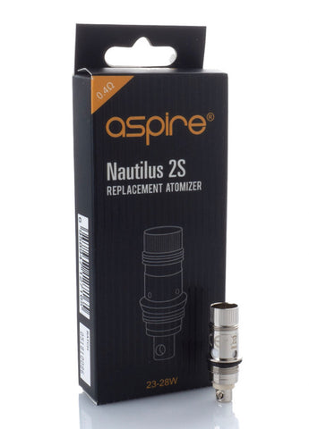 Nautilus 2S Replacement Atomizer Coils by Aspire