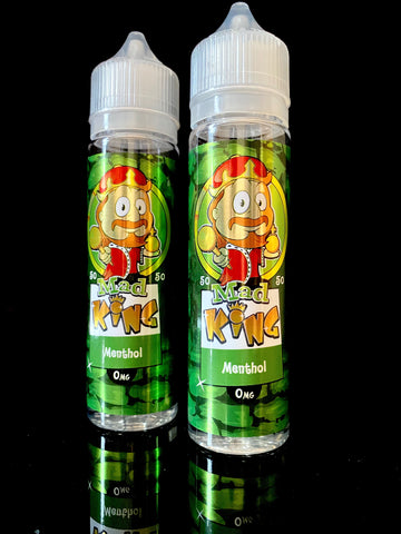 MENTHOL BY MAD KING- 50ml - 0mg 50/50