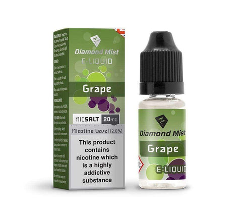 Grape Nic Salt by Diamond Mist 20mg 10ml