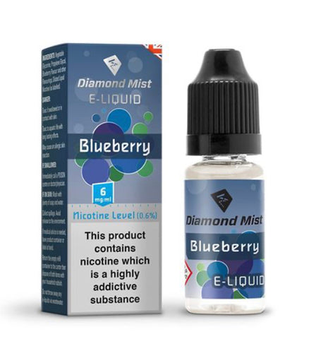 Blueberry Flavour 10ml - Diamond Mist