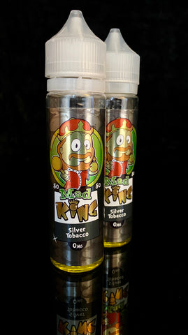 SILVER TOBACCO BY MAD KING- 50ml - 0mg 50/50