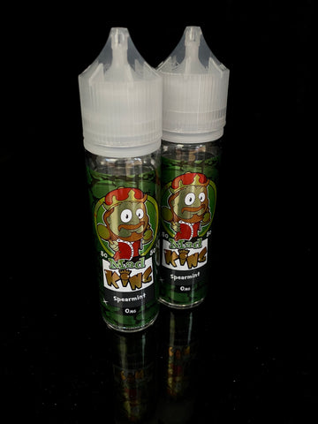 SPEARMINT BY MAD KING- 50ml - 0mg 50/50