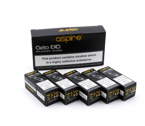 Cleito EXO Replacement Atomizer by ASPIRE (5PK)