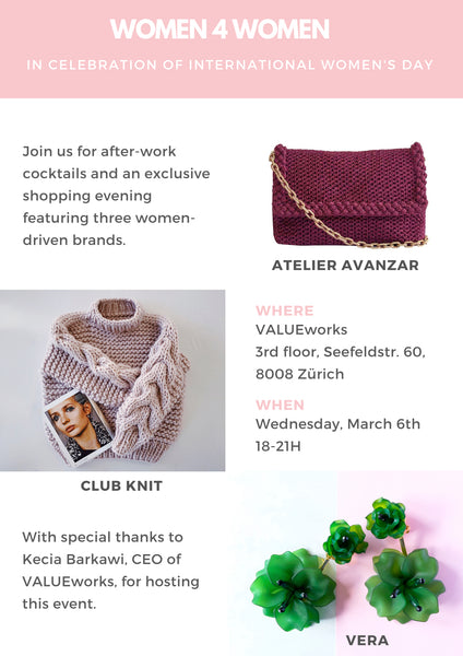 VERA Women4Women Pop-Up March 6 2019