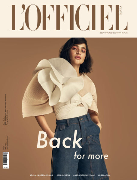 VERA in L'Officiel Manila May 2017