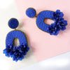 VERA Florabelle Earrings in Azure