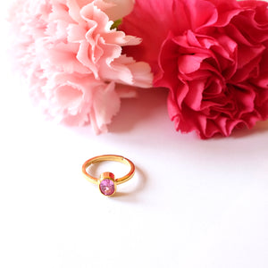 VERA Generosity Ring in Pink Tourmaline