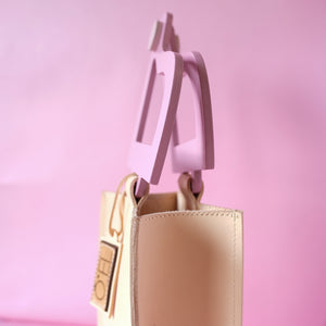 VERA Likha Mini Bag in Rose Pink