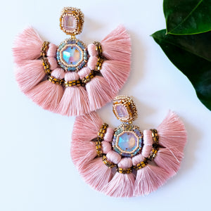 VERA Misokyklo Fan Earrings in Sakura