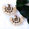 VERA Misokyklo Fan Earrings in Sand