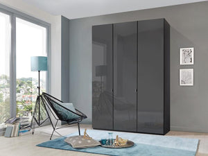 instrument Ipanema hinged wardrobe 150cm [Havana finish] - INSTRUMENT FURNITURE