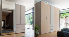 instrument PERLA hinged door wardrobe 100cm [White] - INSTRUMENT FURNITURE