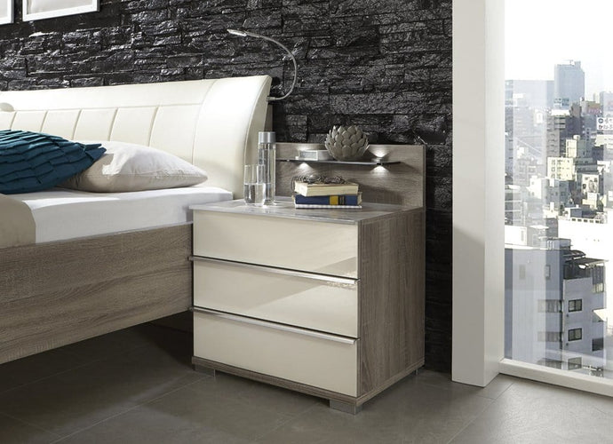 instrument ROSARIO 3 drawer bedside [Multicolour] - INSTRUMENT FURNITURE