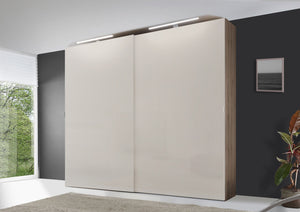 instrument VIGO sliding wardrobe 167cm [Sand Glass] - INSTRUMENT FURNITURE