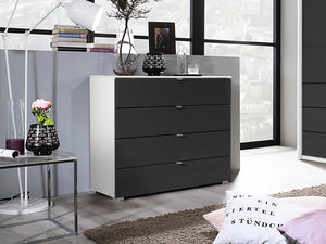 instrument ZARA chest of drawers 80cm [Basalt Glass] - INSTRUMENT FURNITURE