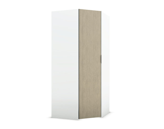 instrument PERLA hinge door corner wardrobe [Multicolour] - INSTRUMENT FURNITURE
