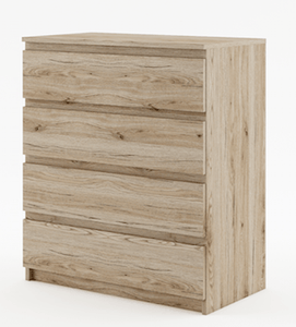 instrument CLEO chest of drawers [shetland oak] - INSTRUMENT FURNITURE
