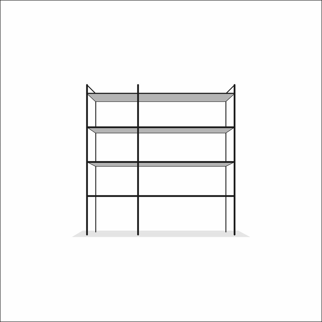 book SHELF assembly - INSTRUMENT FURNITURE