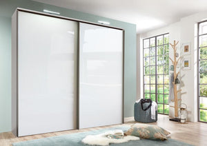 instrument LOFT wardrobe 200cm [White finish] - INSTRUMENT FURNITURE