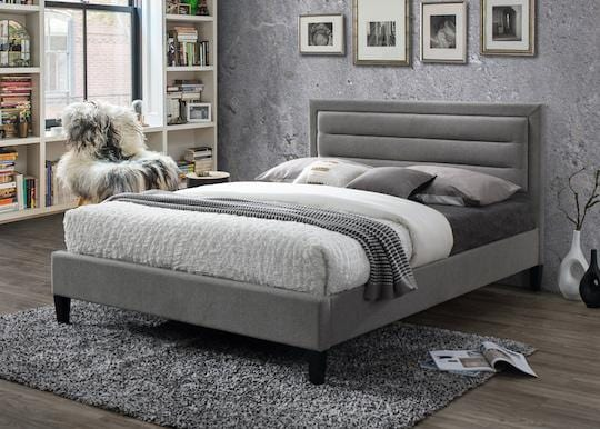 instrument VICO grey marl bed frame - INSTRUMENT FURNITURE